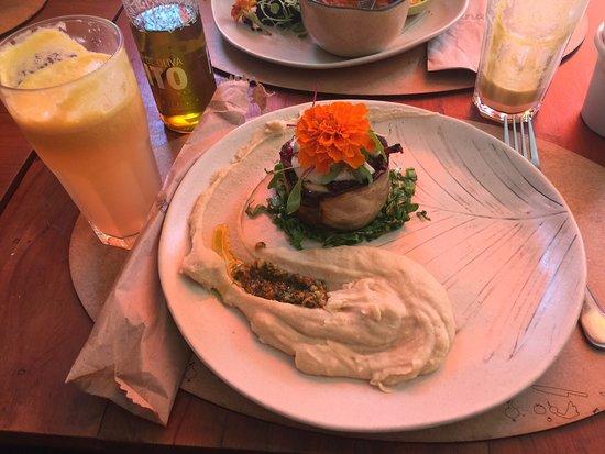 Excelente Restaurante Prana Vegetariano
