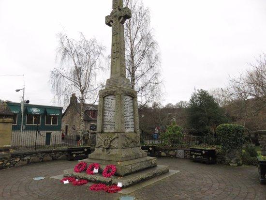 Pitlochry, UK: Memorial