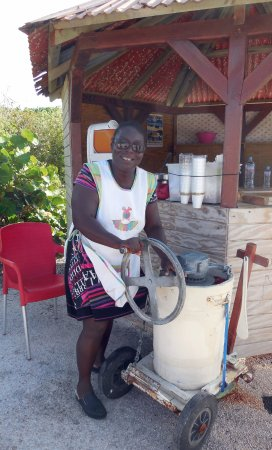 Anse-Bertrand, Gwadelupa: Nicaise : le meilleur Sorbet Coco