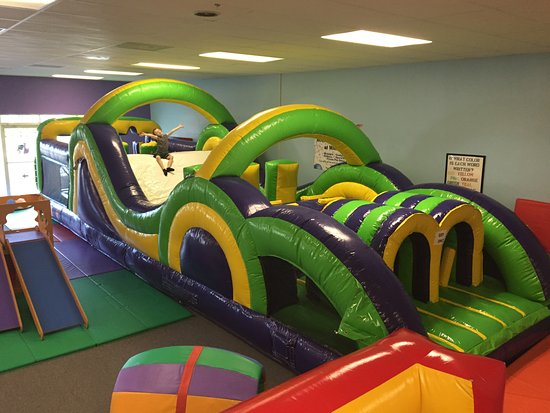 Whiz Kids Playzone And Tutoring Center 30 Foot Obstacle Course Fun For All Ages