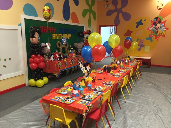 Private custom birthday parties Picture of Whiz Kids Playzone and