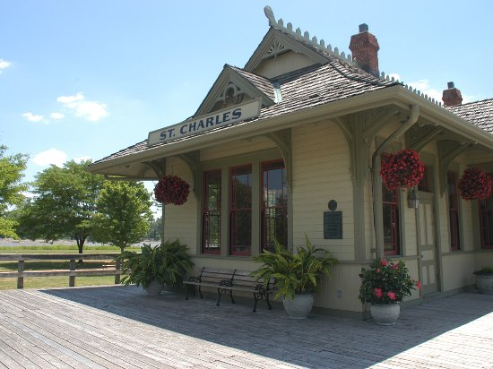 Saint Charles, MO: Katy Depot in Frontier Park