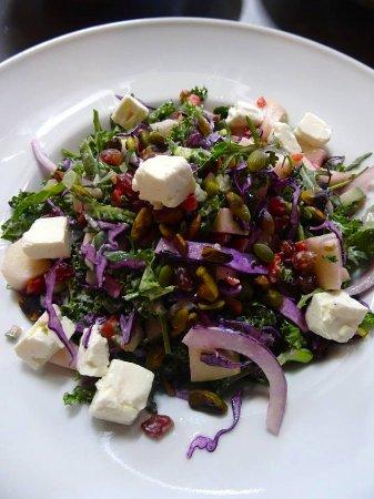 Cupecoy Bay, St. Maarten: The Fresh salad