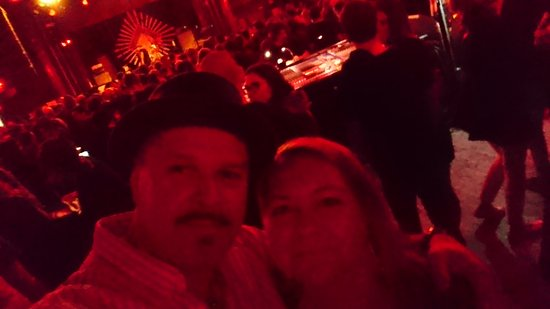Yours truly with wife @ Sala Apolo