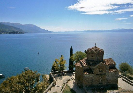 St. Jovan Kaneo : San Juan Caneo y el Lago Ohrid