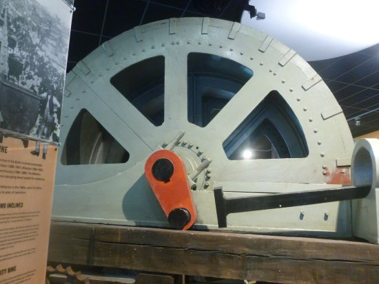 Coaltown Museum : Fly wheel
