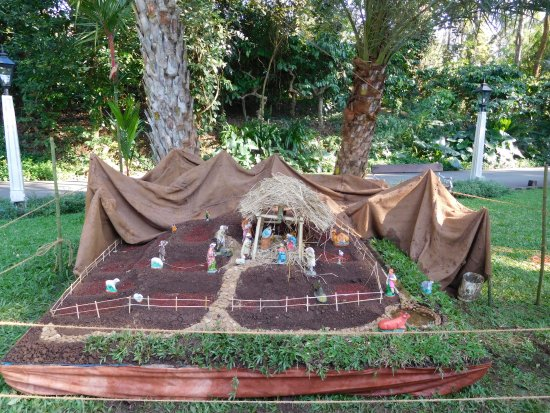 Orange County, Coorg: Nativity scene