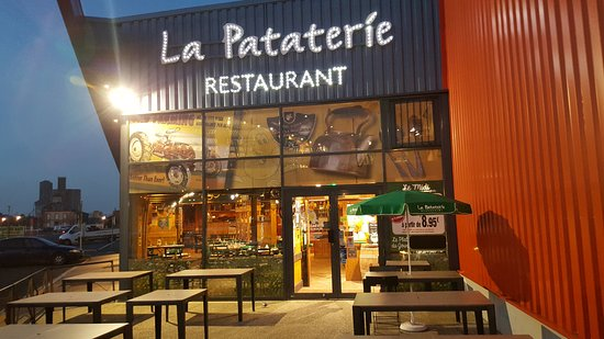La Pataterie: ENTRÉE DU RESTAURANT