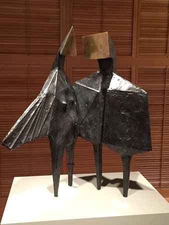 Yale Center for British Art: Winged Figures II from Lynn Chadwick's iconic series