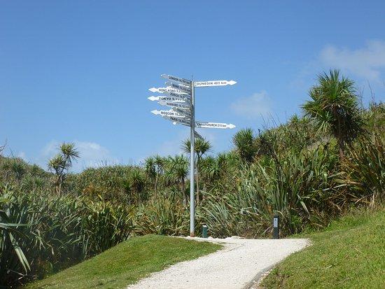 Westport, Selandia Baru: Signpost