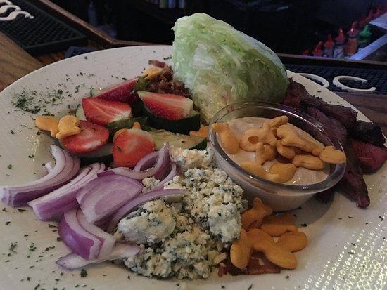 Lake Worth, Floride : Wedge steak salad