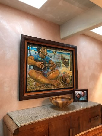 Maui Guest House: More Hawaiian decor in dining area