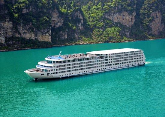Yichang, China: Yangtze Cruise Ship