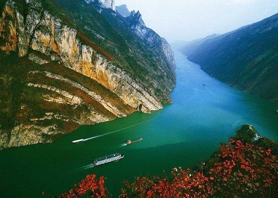 Yichang, China: Three Gorges
