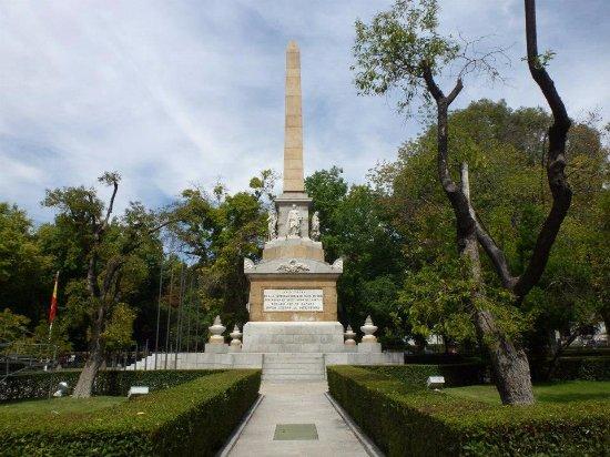 Regione di Madrid, Spagna: The monument.