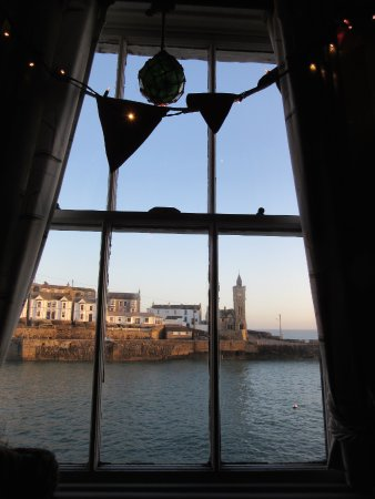 Porthleven, UK: View from inside