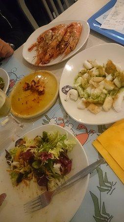 sepia e lagostines