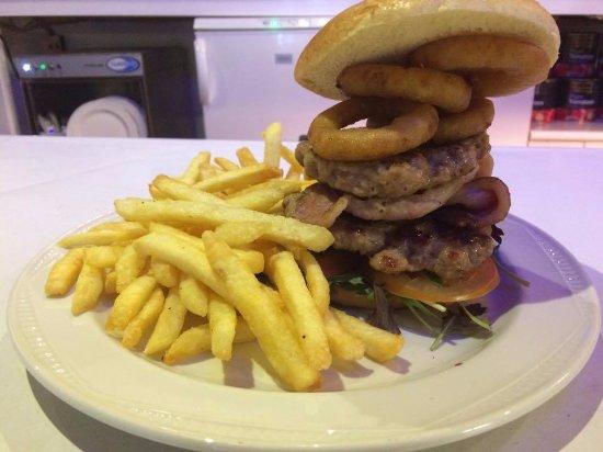 Wotter, UK: The Big Pig Burger £8.00