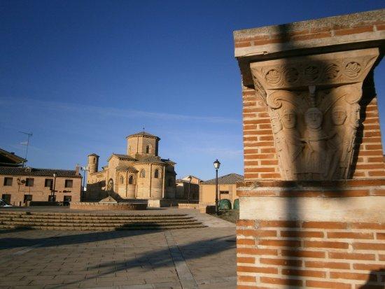 Fromista, Spain: Plaza de San Martín en Frómista