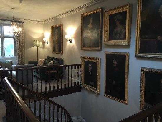 Honiton, UK: Main Staircase