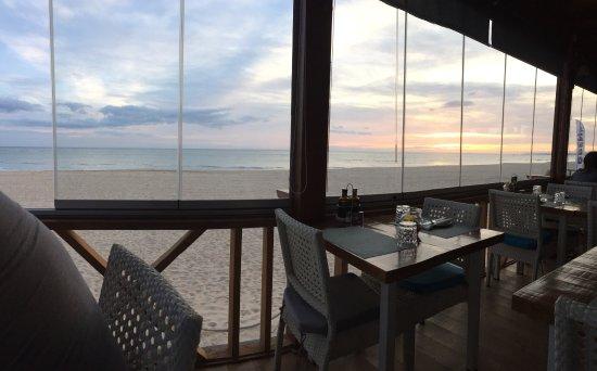 Amazing views, delicious food!