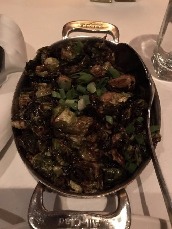 The Capital Grille: Brussel sprouts