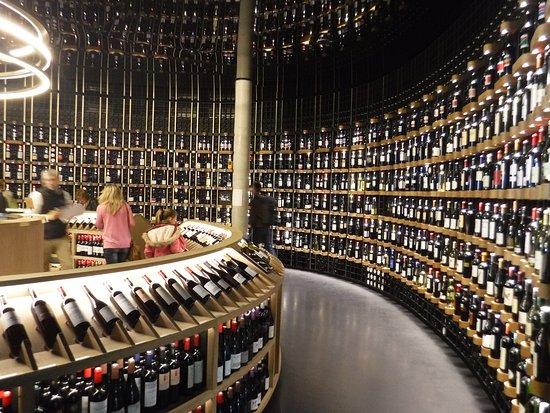 The wine shop at the Cité du Vin - Picture of La Cite du Vin ...