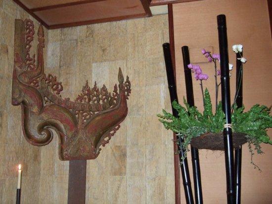 Thai Barcelona | Royal Cuisine: decoración muy torera!