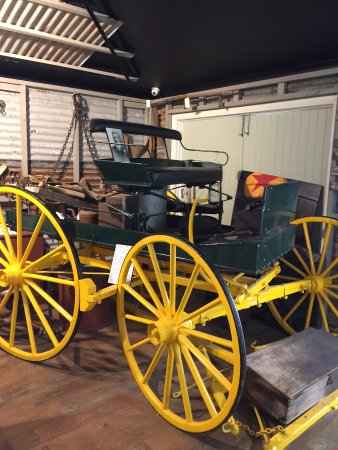 Discover Eumundi Heritage & Visitor Centre: old carriage