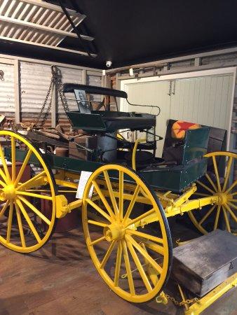 Eumundi, Australia: old carriage
