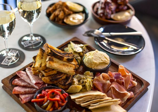 The Push: Antipasto Board & Share Plates