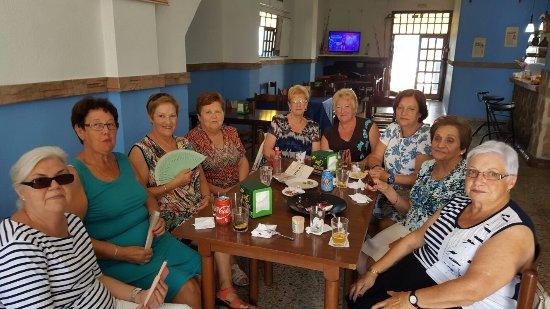 La Nucia, España: Un grupo con mucho estilo!