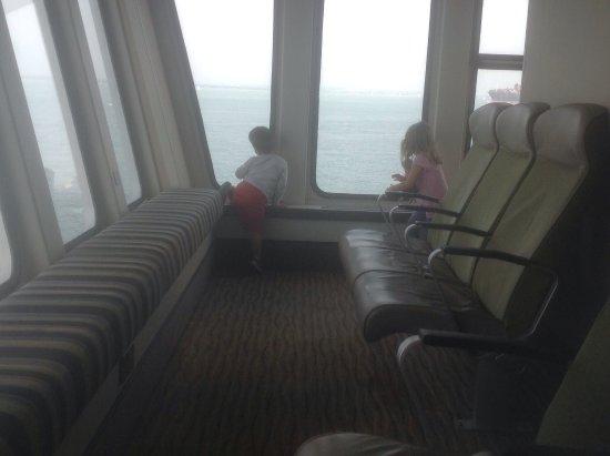 Red Funnel Ferries: birds eye view