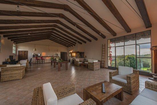Canino, Italy: Sala lounge