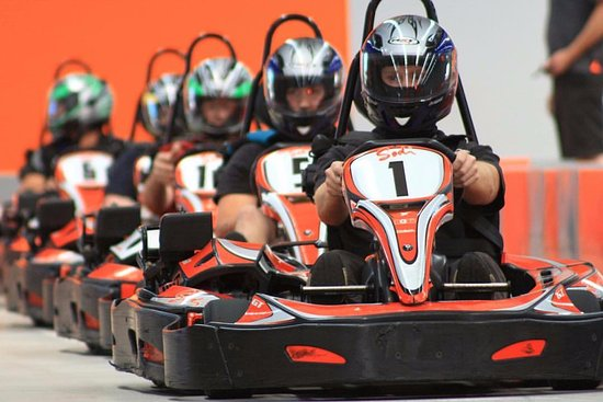 Narellan, Australia: Longest, Widest and Fastest  indoor karting in Sydney.