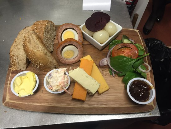 Guisborough, UK : A selection of some of our different dishes, including valentines and outside catering