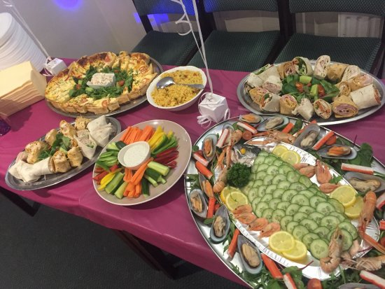 Guisborough, UK: A selection of some of our different dishes, including valentines and outside catering