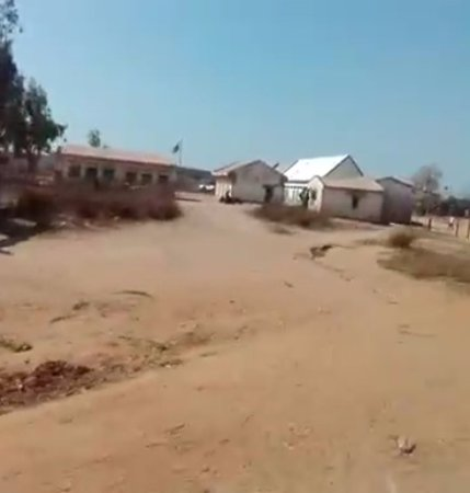 Belo Tsiribihina, Madagascar: Descampado de Belo-sur-Tsiribihina
