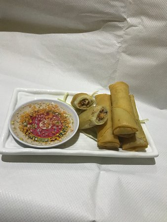 Whiston, UK: Homemade Crispy Vietnamese Spring Rolls