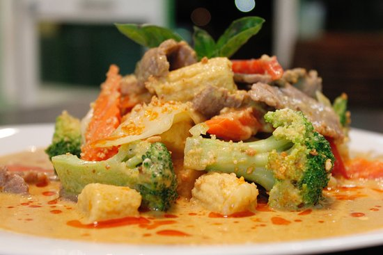 Warners Bay, Australia: Panang Curry with Beef