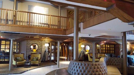 Manchester Marriott Victoria & Albert Hotel: The beautiful lobby