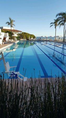 Four Seasons Resort The Biltmore Santa Barbara: The private Coral Casino Beach Club pool