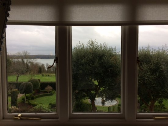Hambleton, UK: Winter View from Room