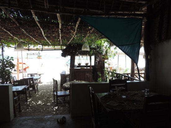 Kiwengwa, แทนซาเนีย: veduta dal ristorante
