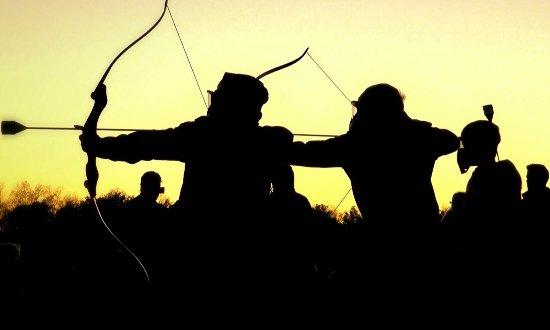 Campbell River, Canada: Combat Archery