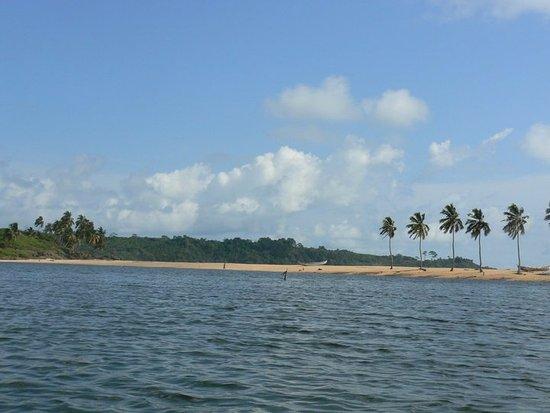Busua, Ghana: spiaggia