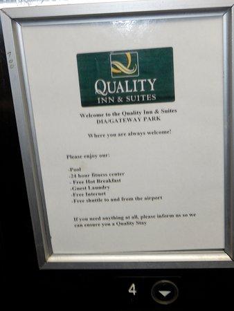 Quality Inn & Suites Denver Airport Gateway Park : Where am I