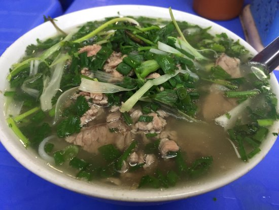 Recommended to us by our local friends as the best Pho in Hanoi.
