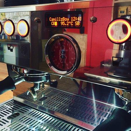 Gympie, Australia: La Marzocco Espresso Machine
