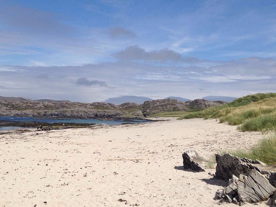 Isle of Colonsay, UK: Plaide Mhor, Ardskenish, Colonsay